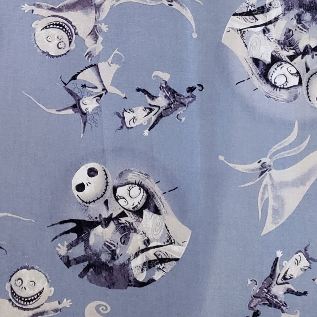Jack Skellington on grey