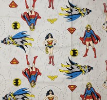 Female Superheroes Wonder woman,  Bat woman,  Super girl