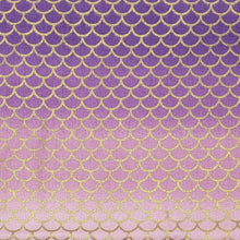 Mermaid Scales pink and purple