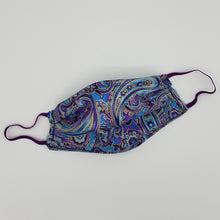 Paisley Purple & Blue