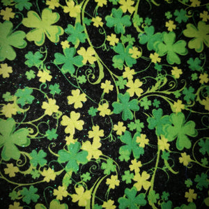 Dark Green Clovers Shamrocks
