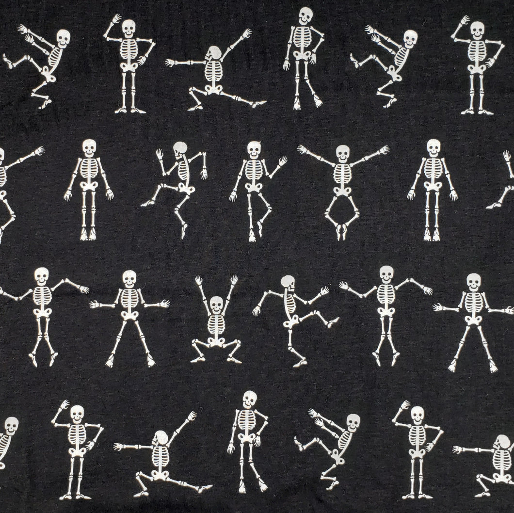 Dancing Skeletons face mask