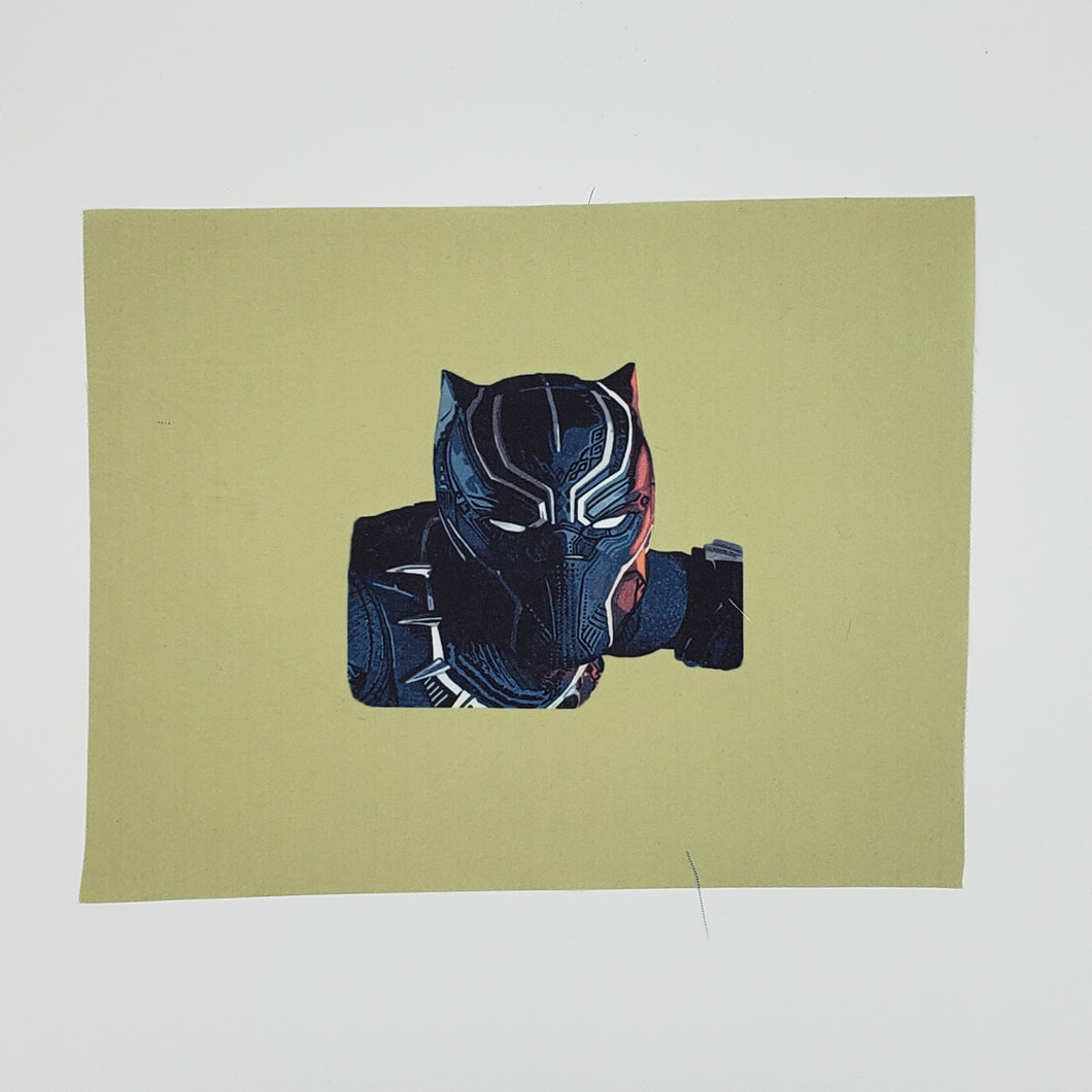 Black Panther 1 custom print face mask