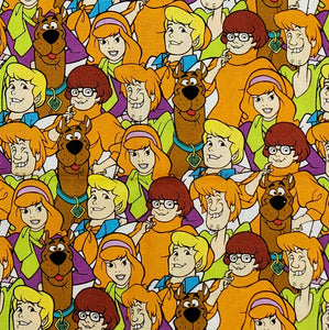 Scooby-Doo and friends face mask