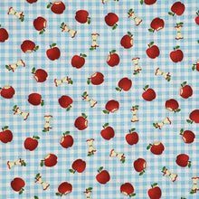 Apples and Gingham face mask