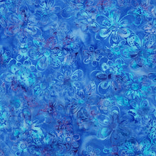 Batik Blue Purple blend