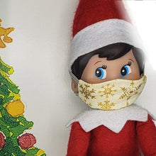 Elf mini cloth face mask accessory