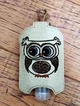 Owl Sanitizer Holder - ITH Digital Embroidery Design