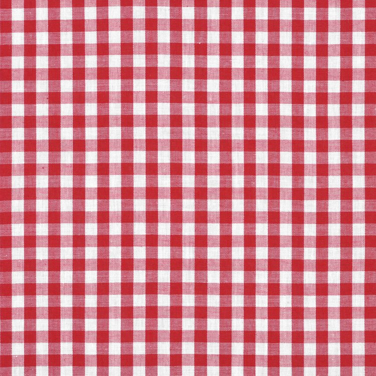 Red Gingham face mask