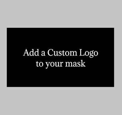 Add a Custom Business Logo to 1 Mask