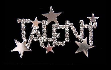 cp-Talent Rhinestone Sash Pin