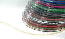 Sequin Trim: Silver, Gold, Red, Blue, Green, Purple, Lt Pink
