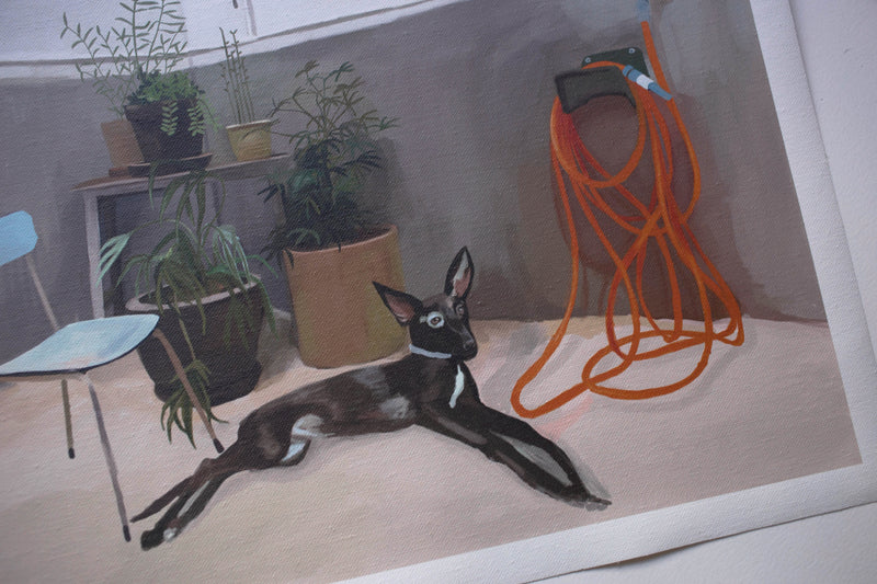 """ANDALUSIAN DOG"" // PETIT CANVAS"