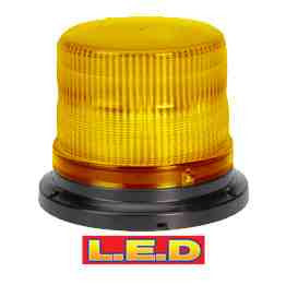 NARVA PULSE LED STROBE FLANGE BASE AMBER