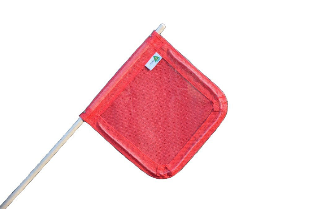 Safety Flags - Ultra Heavy Duty Flag with Pole