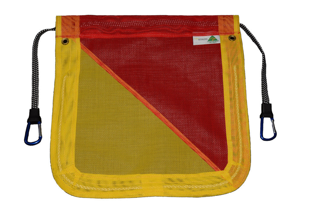 Safety Flags - Ultra Heavy Duty Flags with Aluminium Clips