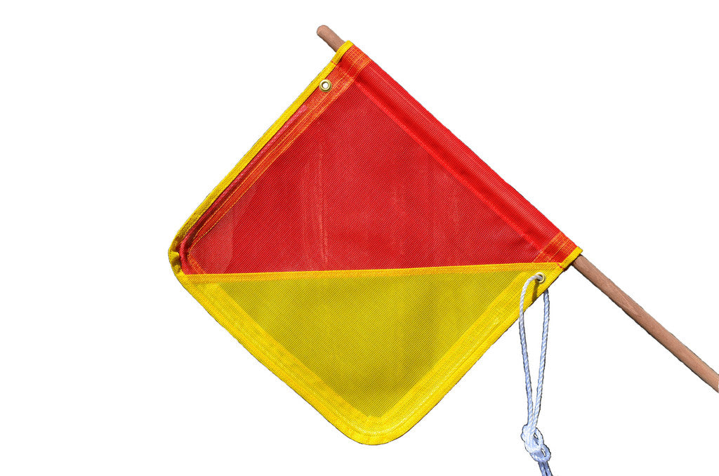Safety Flags - Ultra Heavy Duty with pole