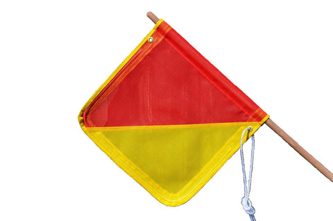 Ultra Heavy Duty Flag with Pole
