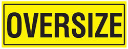 Oversize Sign - 1 x Piece Decal 1200 X 450MM