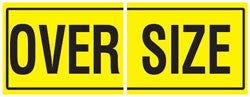 Oversize Sign - 600 X 450MM 2 x Piece DECAL