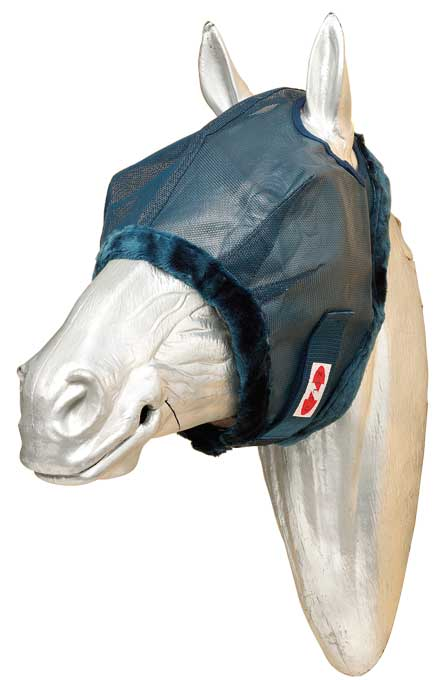 Zilco Fly Mask with Fleece Trim - EveryDay Equestrian
