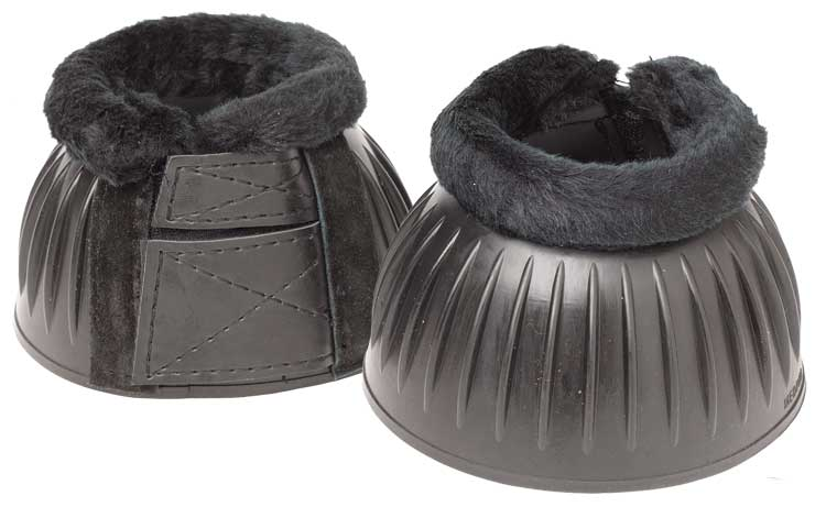 Zilco Rubber Bell Boots with Fleece - EveryDay Equestrian