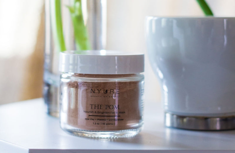 The Pom- Nourish Clay Mask - Nyure