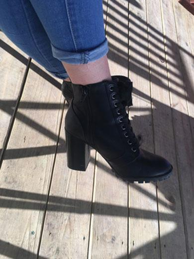 ABIGAIL high heels boots short