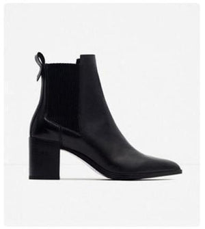 chelsea leather boot