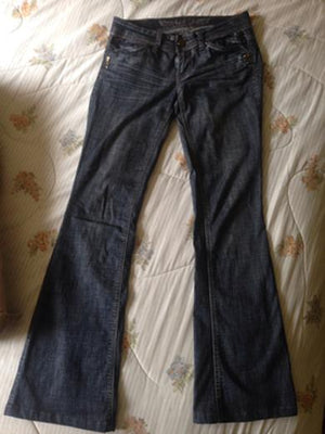 LUCY flared denim jeans