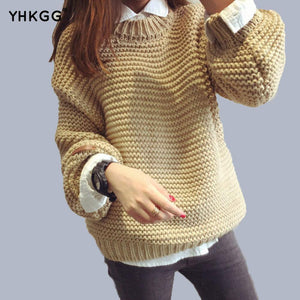 Knit Long Sections Sweater