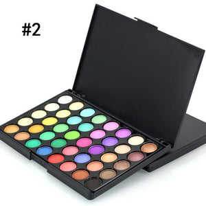 40 Color Matte Eyeshadow Pallete