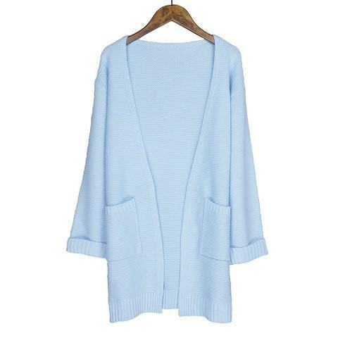 The Long Knitted Cardigan