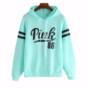 The Pink Easy Leisure Fleece Hoodies