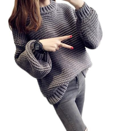 The Long Puff Sleeve Pullover