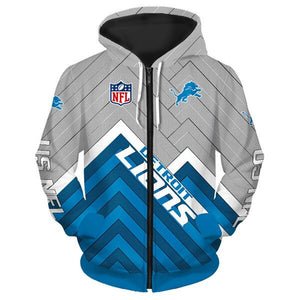 Detroit Lions Hoodie 3D cheap Football Sweatshirt Pullover NFL size S-5XL-Hoodie, Sweatshirt-Mike's sport fan