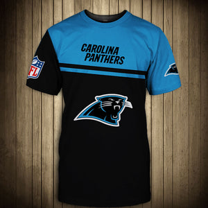 Carolina Panthers T-Shirt 3D skull cheap gift for fans size S-5XL-tshirt-Mike's sport fan
