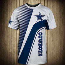 Load image into Gallery viewer, Dallas Cowboys T-Shirt 3D custom cheap gift for fans size S-5XL-tshirt-Mike's sport fan