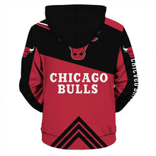 Load image into Gallery viewer, Chicago Bulls Hoodie 3D cheap basketball Sweatshirt NBA size S-5XL-Hoodie, Sweatshirt-Mike's sport fan