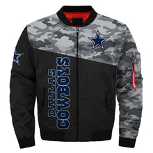 Load image into Gallery viewer, Dallas Cowboys bomber jacket cheap Football gift for best fans-Bomber jacket-Mike's sport fan