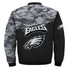 Load image into Gallery viewer, 2019 Philadelphia Eagles bomber jacket cheap Football gift for best fans-Bomber jacket-Mike's sport fan
