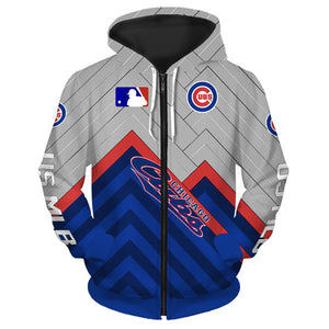 Chicago Cubs Hoodie 3D cheap baseball Sweatshirt Pullover size S-5XL-Hoodie, Sweatshirt-Mike's sport fan