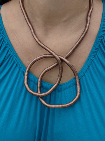 Copper Snake Necklace