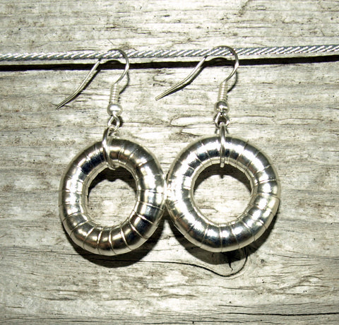 Silver 5mm Hoop Earrings