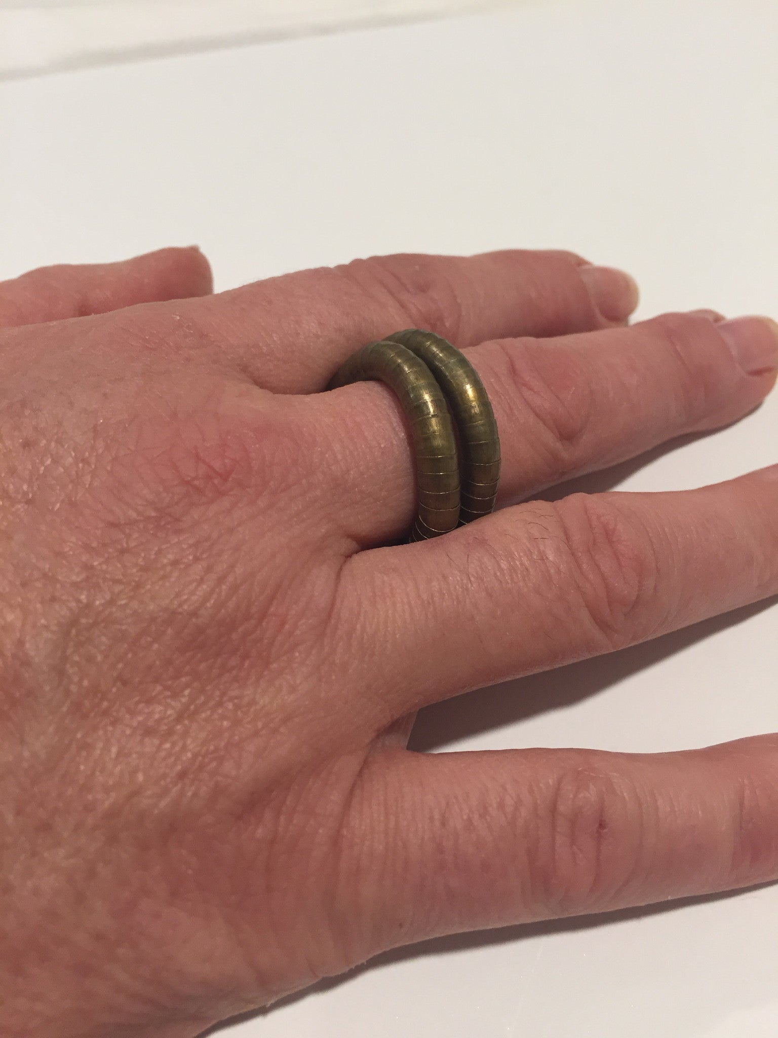 Bronze Ring, 5mm thick and 7 inches long