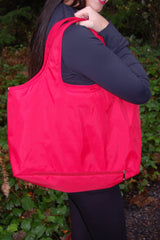 Red Waterproof Umbrella Tote