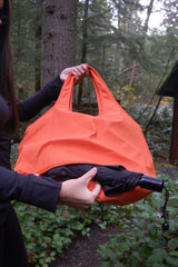 Orange Waterproof Umbrella Tote