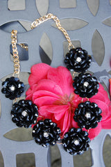 Black Rose Necklace