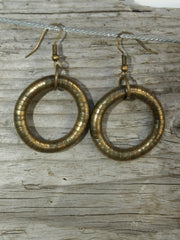 Hoop Twist Earrings by Snake Twist, 5mm Skinny