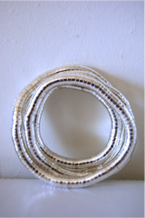 Silver, 36 inches long (Select from 5mm, 6mm, or 8mm size)